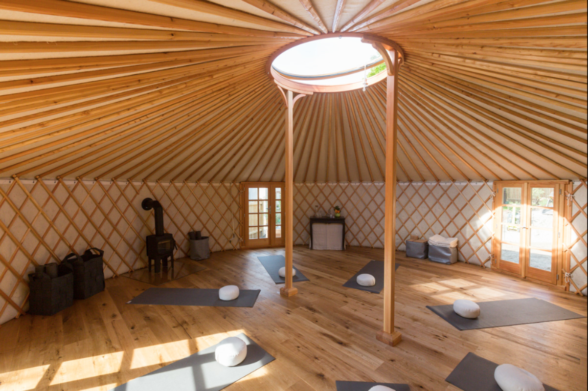 Yoga Yurt - Freiburg, Germany