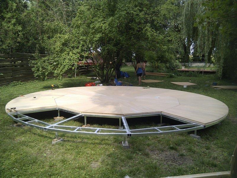 700cm - Stahlkonstruktion