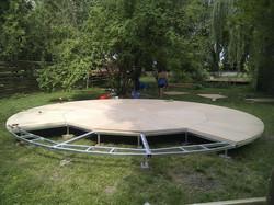700cm platform Hungary