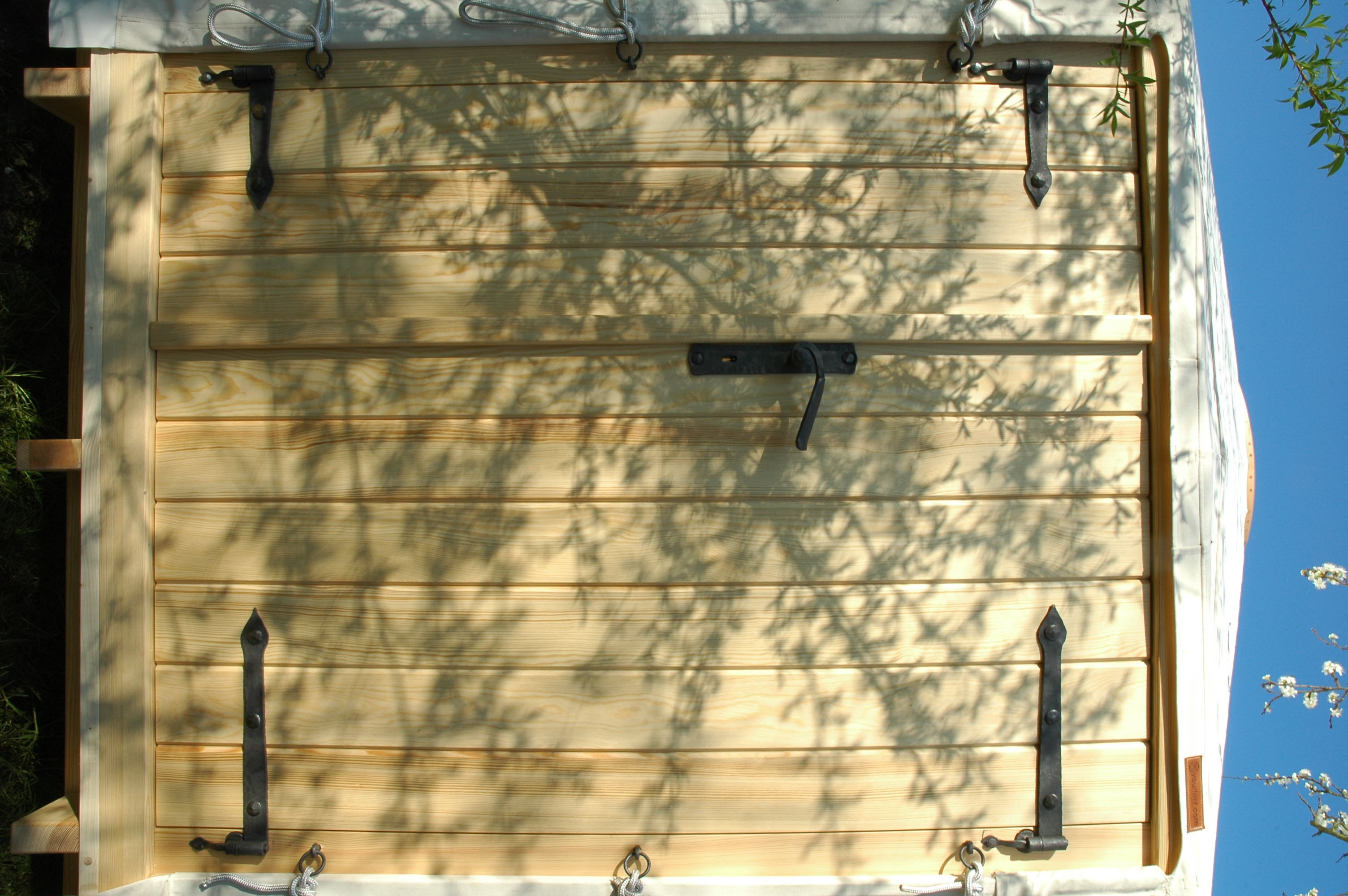 Celodřevěné dveře, 130cm