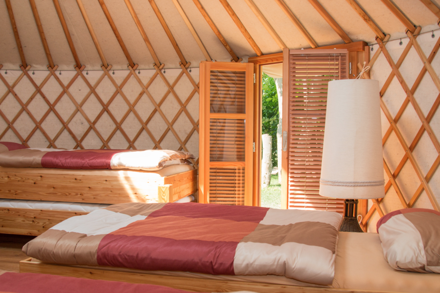 Yurt to stay, Herbsleben - Germany
