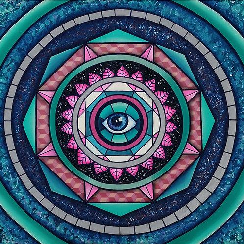 """Pintura """"Desdoblamiento de la vida"""" - Bili Bala"""