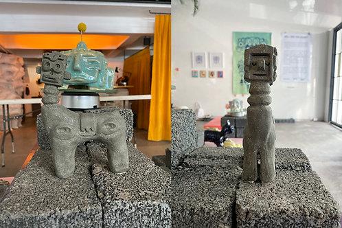"Escultura ""Evolution"" - Jorge Tellaeche"