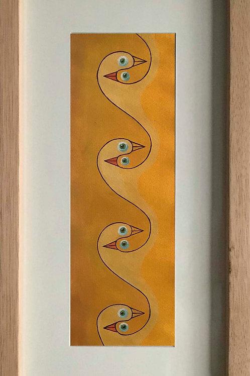 "Pintura ""Curiosidad infinita Uno"" - Raúl Sisniega"