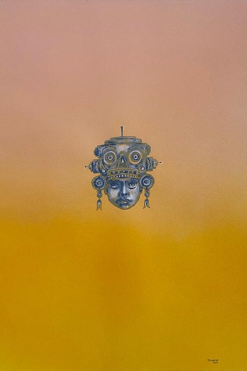 "Pintura ""Future warrior 1"" - Jorge Tellaeche"