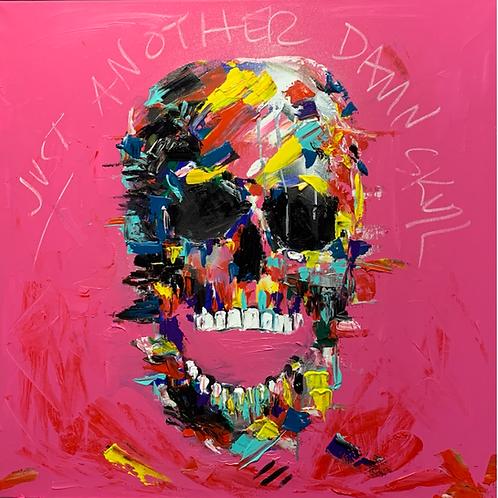 "Pintura ""Just another damn skull"" - Vero Villarreal Sada"
