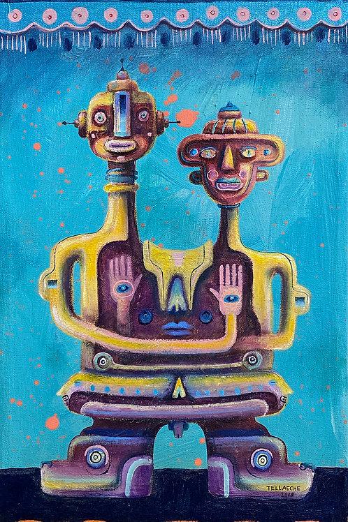 "Pintura ""Not Alone"" - Jorge Tellaeche"