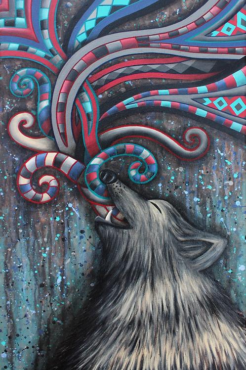 """Pintura """"El poder de la autoexpresión"""" - Bili Bala"""