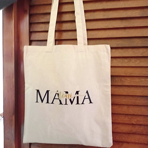 """Bolsa Tote Bag modelo """"MAMA"""""""