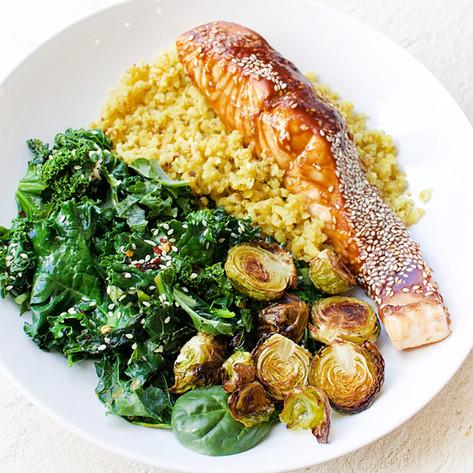 JS Health - One bowl Salmon