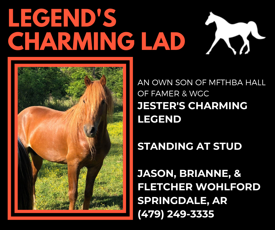Legend's Charming Lad Ad2