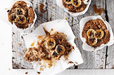 JS Health Banana date muffins