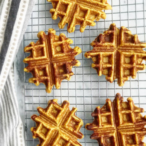 Buckwheat Sweet Potato Waffles