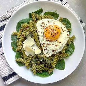 Green Pea Pesto Pasta