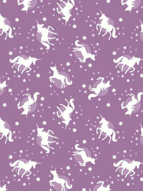 UNICORNS GLOWS PURPLE (Glow In The Dark)