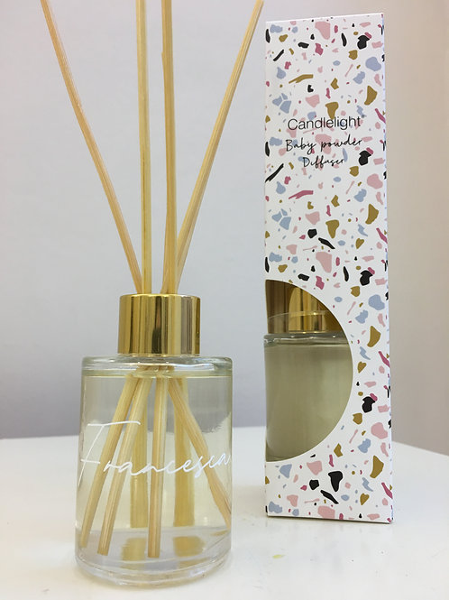 Personalised Baby Powder Scent Diffuser