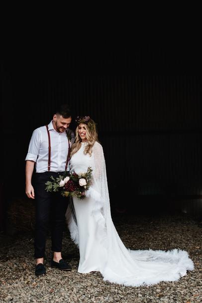 Bespoke Bride Wedding Cape