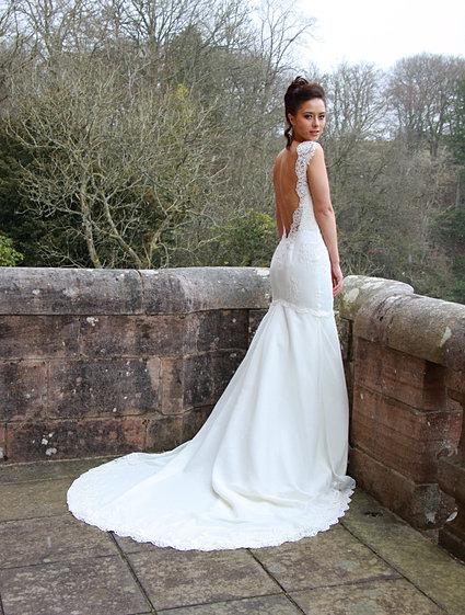 Bespoke Wedding Dressmaker Glasgow With Dress