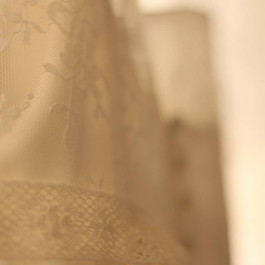 IMG_6015.JPGBespoke Wedding Dress - Chantilly lace bodice, heirloom lace belt and silk crepe skirt.