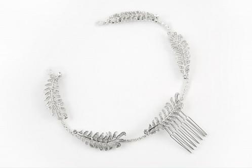 Silver Leaf Hair Jewellery