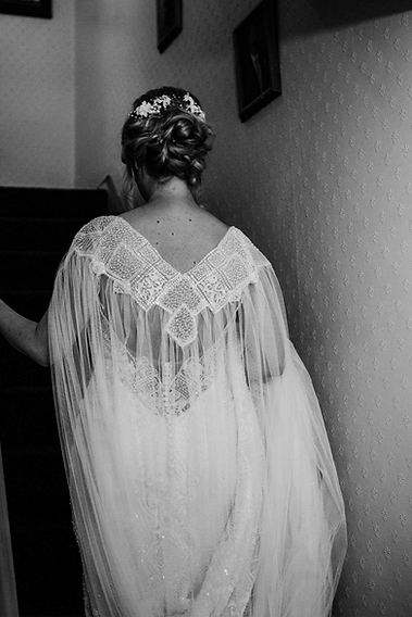 Bespoke Bride Wedding Cape