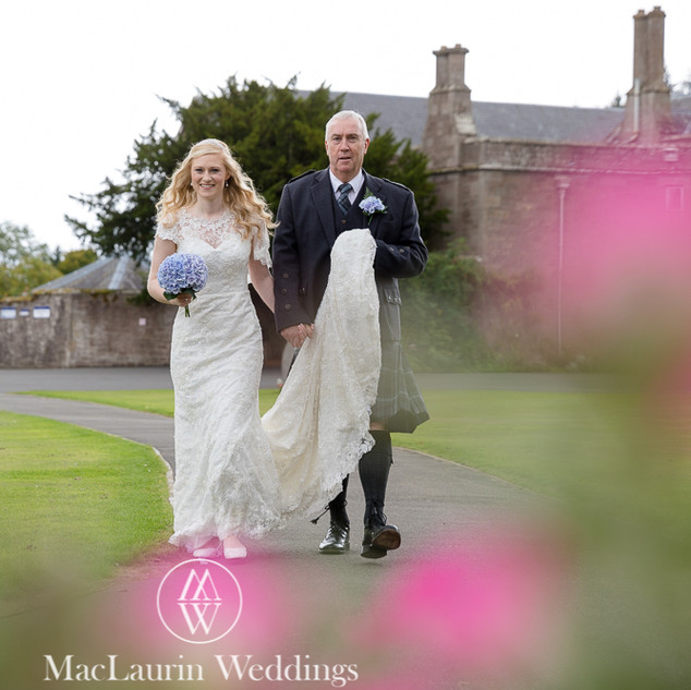 Bespoke Wedding Dress - Intricately beaded embroidered lace gown.