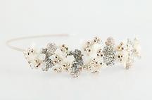 Clustered Floral Side Tiara