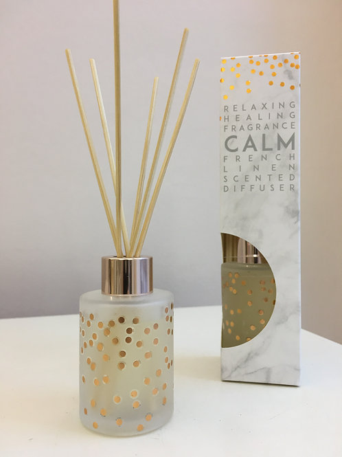 Calm Reed Diffuser - French Linen Scent