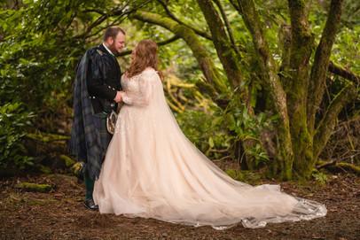 Bespoke Bridal Wedding Cape