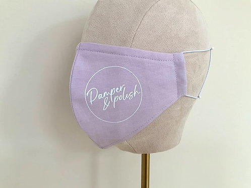 LILAC BRANDED PROFILE MASK