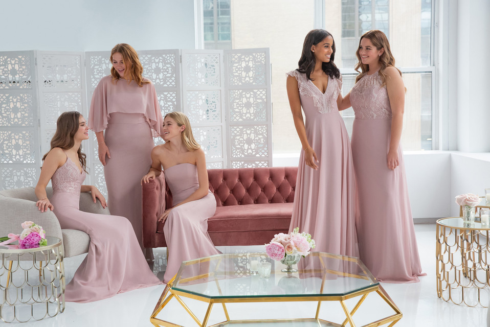 Dusty Rose Bridesmaids | Occasionwear | Spring 2019 Collection >