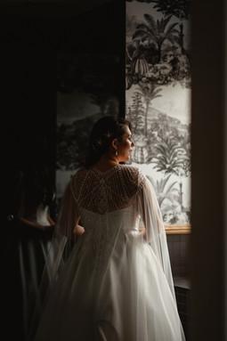 Bespoke Bridal Art Deco Gatsby Beaded Cape