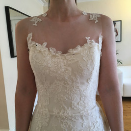 Planning lace placement