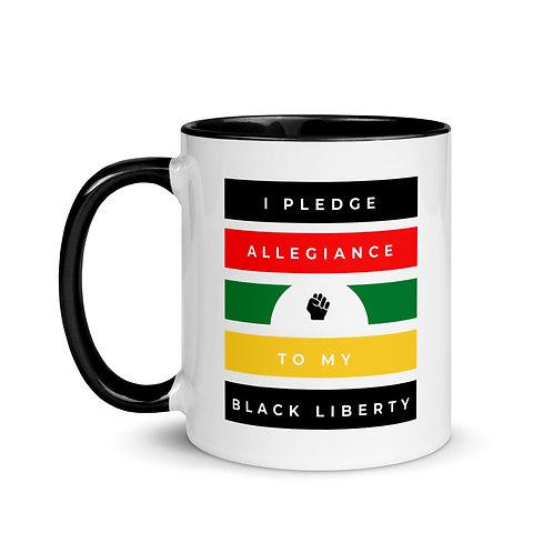 Black Liberty Mug