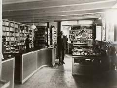 Amneus Boghandel Interiør