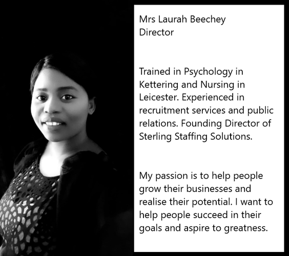 Laurah Beechey | Sterling Staffing Solutions | Recruitment Agency