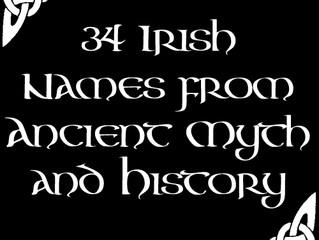 34 Irish Names from Ancient Myth and History