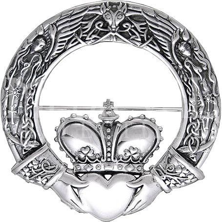 Claddagh Brooch ring symbol meaning