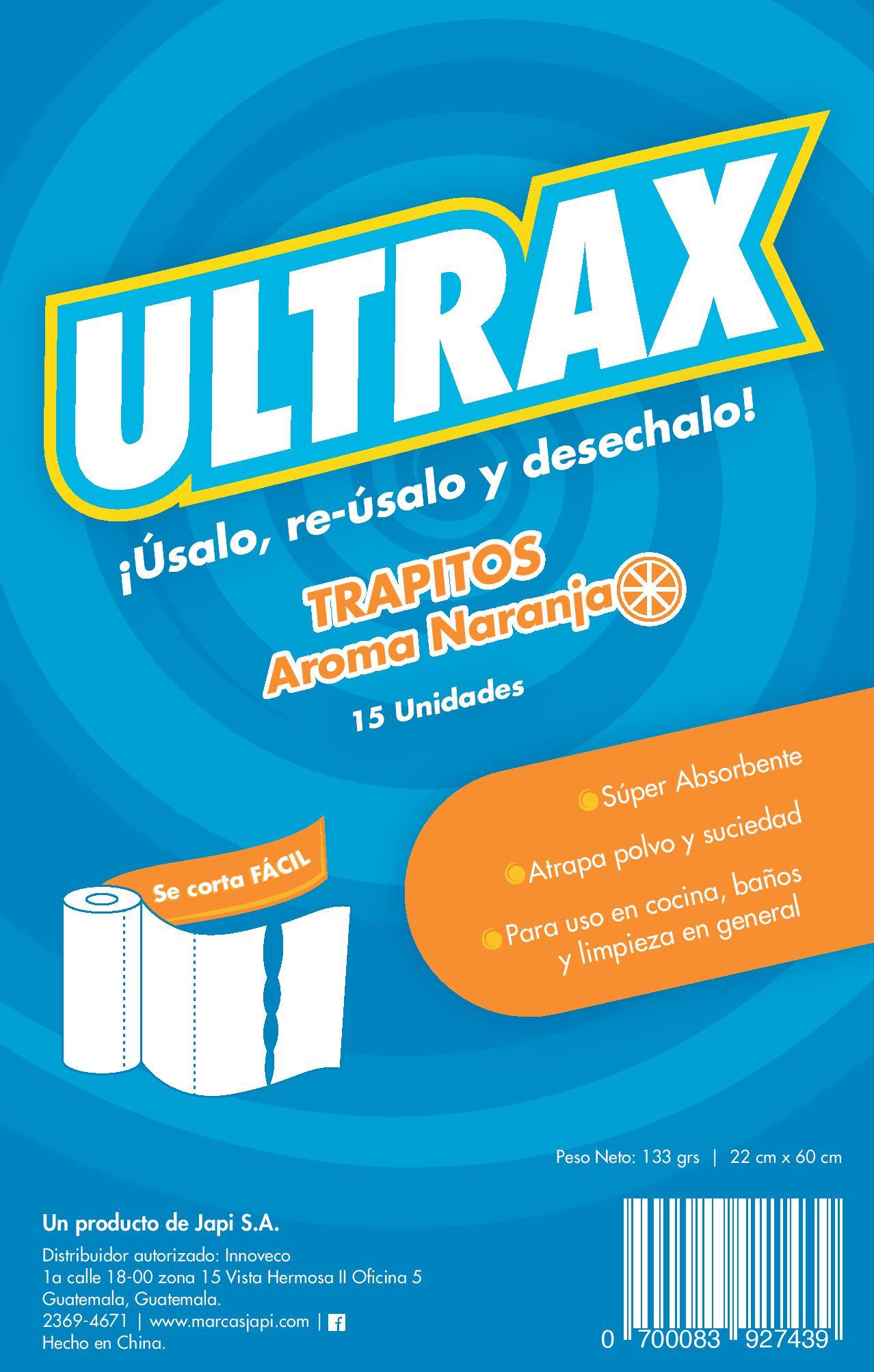 Ultrax Trapitos Naranja