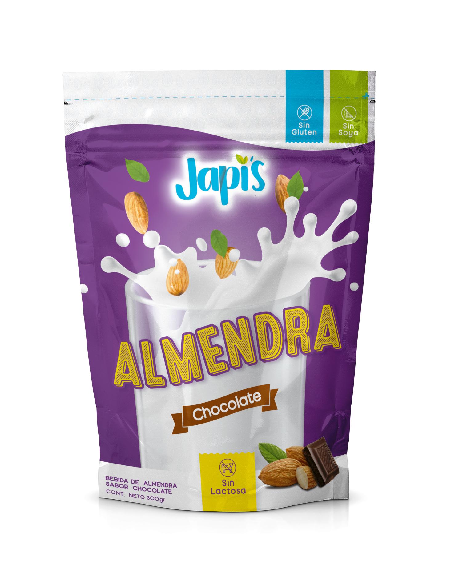 Leche de Almendra Japis Chocolate Guatemala