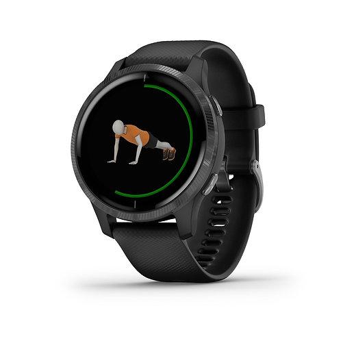 GARMIN GPS-Sportuhr Venu Schwarz