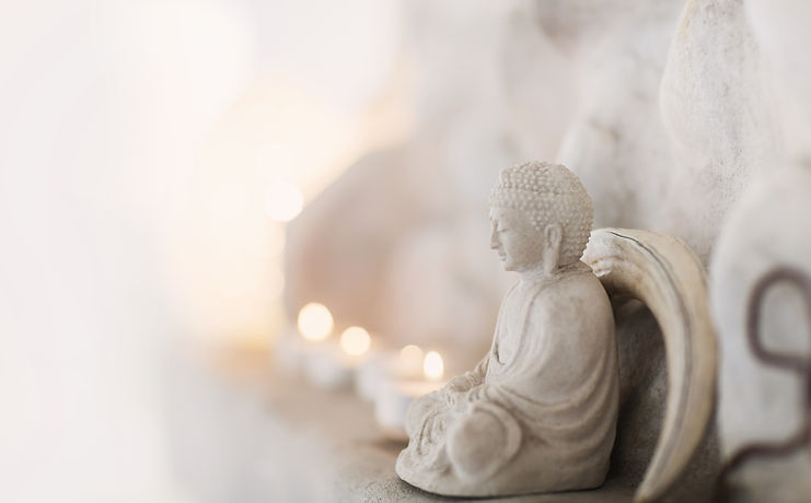 Buddha Figure Unwind Yoga Studio Maidenhead