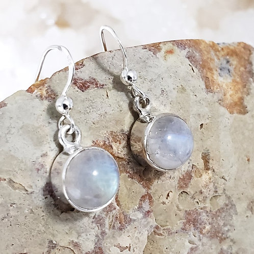 Celine Rainbow Moonstone Earrings