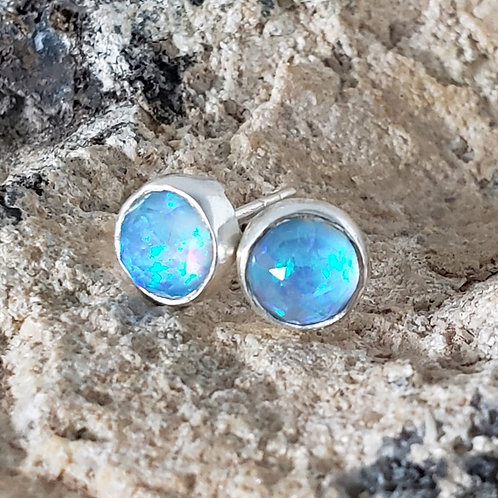 Maura Earrings - Blue