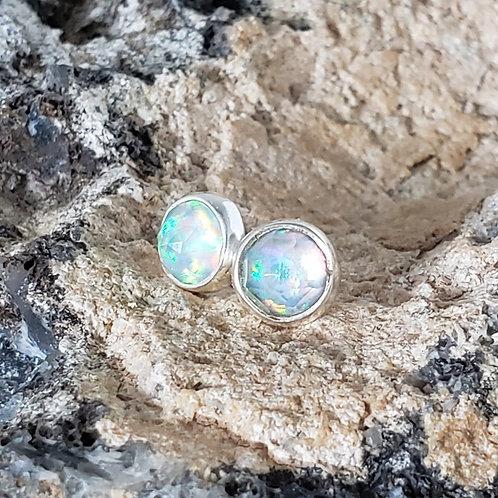 Maura Earrings - White