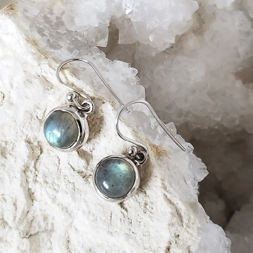 Celine Earrings - Labradorite