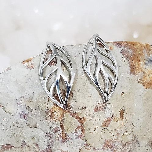 Laura Leaf Earrings