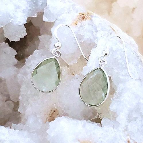 May Prasiolite Earrings