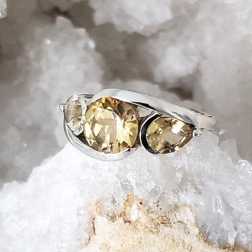 Jacquie Citrine Ring