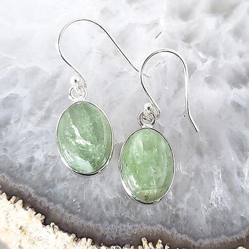 Greta Green Kyanite Earrings